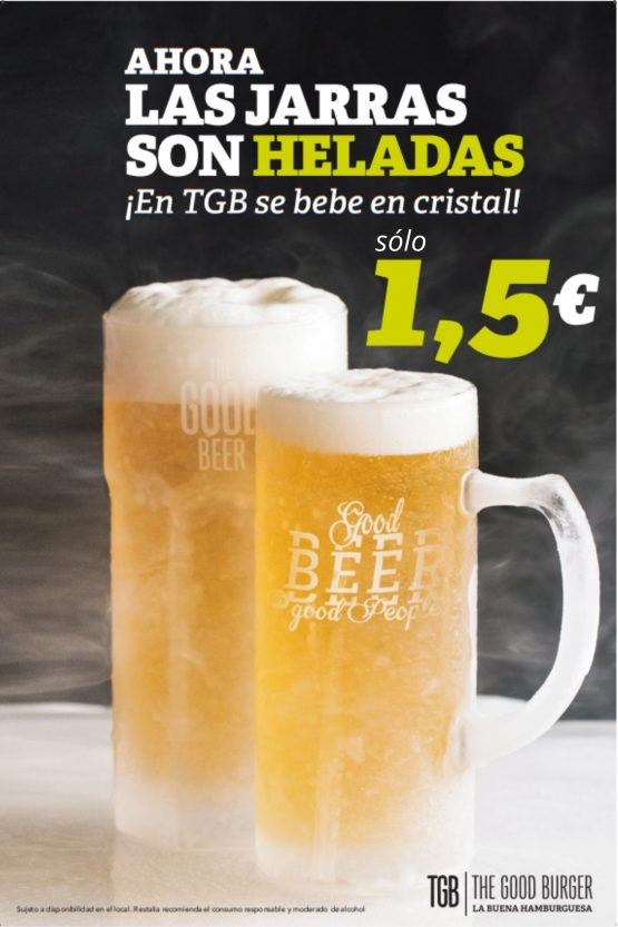 cerveza 1,5€